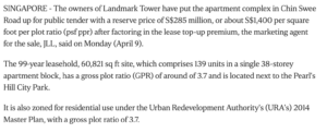 landmark-tower-up-for-collective-sale-with-expected-price-of-more-than-S$300million-2