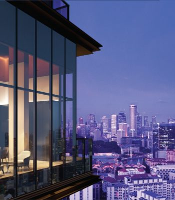 The-landmark-condo-singapore-night-view